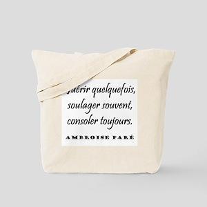 Paré (French) Tote Bag