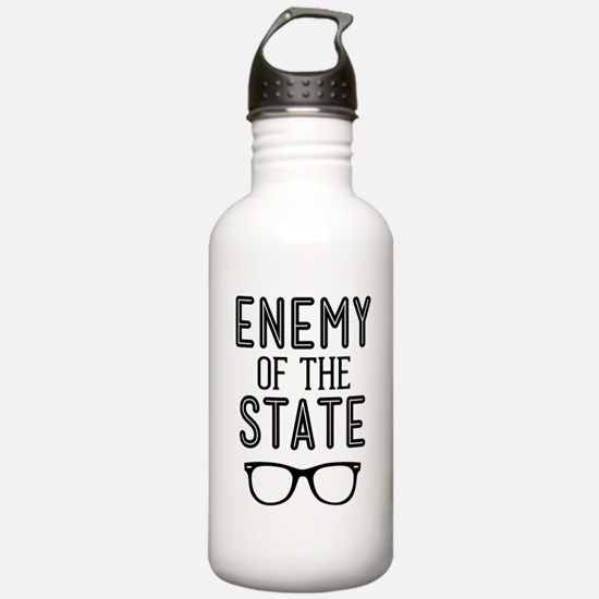Enemy of the State Water Bottle