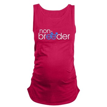Non-Breeder - Male Dark Maternity Tank Top