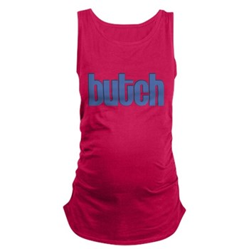 Butch Dark Maternity Tank Top