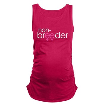 Non-Breeder - Female Dark Maternity Tank Top