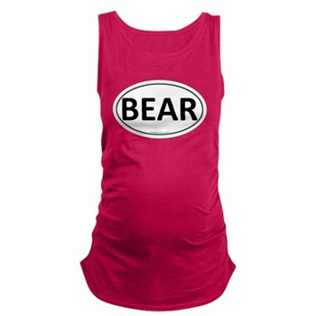 BEAR Euro Oval Dark Maternity Tank Top