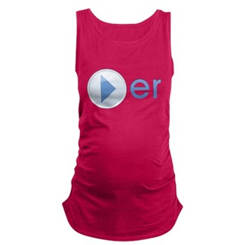 Player Dark Maternity Tank Top