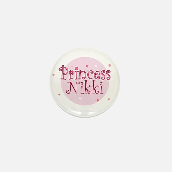 Nikki Mini Button
