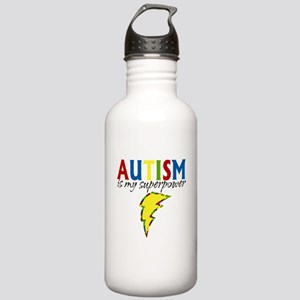 Autism is my Superpower Stainless Water Bottle 1.0