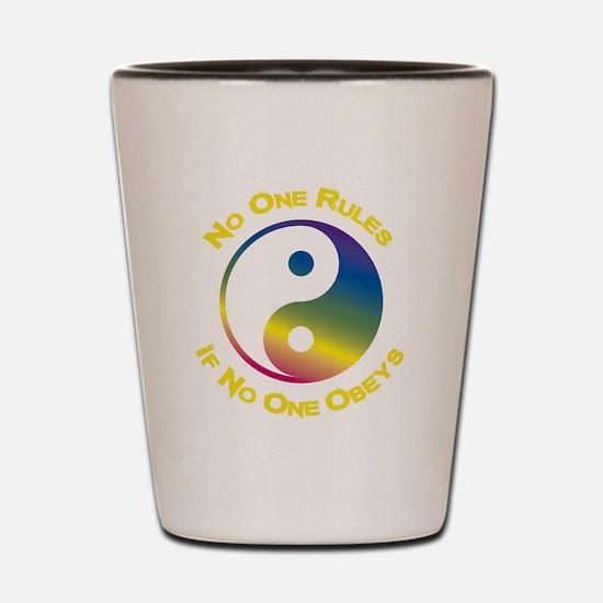Cute Eastern philosophy Shot Glass