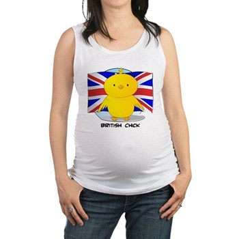 British Chick Maternity Tank Top