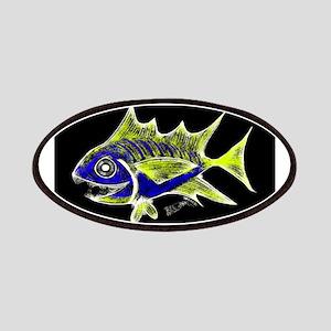 Retro Tuna 1 Art Patches