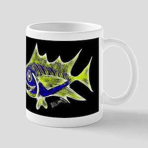 Retro Tuna 1 Art Mug