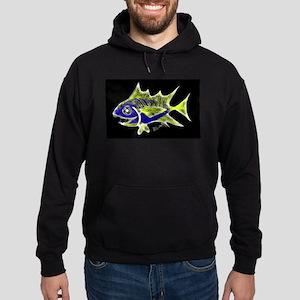 Retro Tuna 1 Art Hoodie