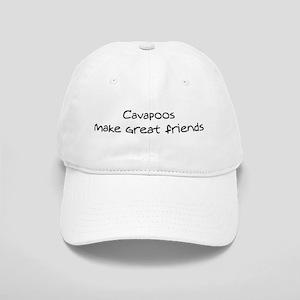 Cavapoos make friends Cap