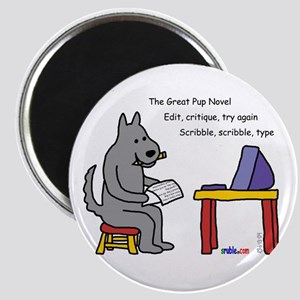 Great Pup Novel Magnet