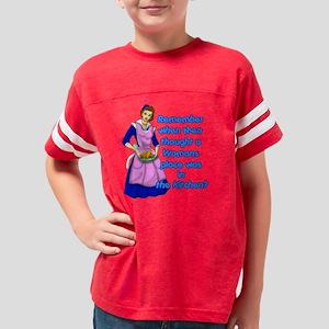 REMEBER-WHEN-50S Youth Football Shirt