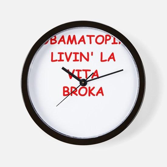obamatopia Wall Clock