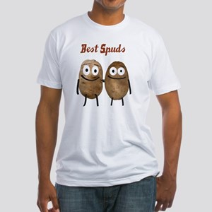 Best Spuds Fitted T-Shirt