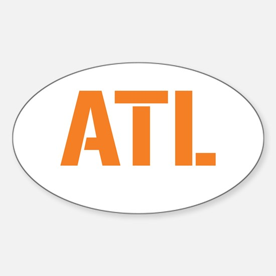 AIRCODE ATL Oval Decal