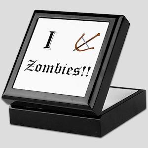 I destory Zombies Keepsake Box