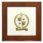 RINGUETTE Family Crest Framed Tile