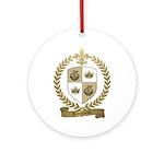 RINGUETTE Family Crest Ornament (Round)