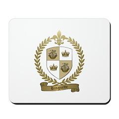 RINGUETTE Family Crest Mousepad