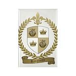 RINGUETTE Family Crest Rectangle Magnet