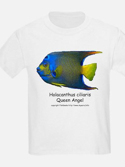 Queen Angel Kids T-Shirt