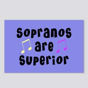 Sopranos Are Superior Postcards (Package of 8)