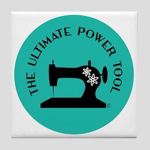 Sew Sassy - Ultimate Power Tool Tile Coaster