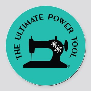 Sew Sassy - Ultimate Power Tool Round Car Magnet