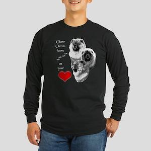 Chow 4 Long Sleeve Dark T-Shirt