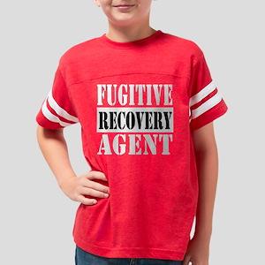 DARK FRA1 10x10_apparel Youth Football Shirt