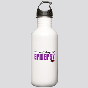 I'm walking for Epilepsy Stainless Water Bottle 1.