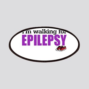 I'm walking for Epilepsy Patches