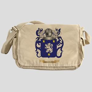 Balducci Coat of Arms Messenger Bag