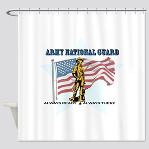 Army National Guard Shower Curtain