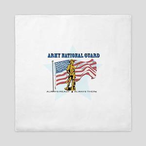 Army National Guard Queen Duvet