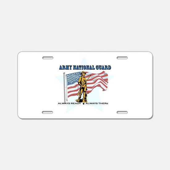 Army National Guard Aluminum License Plate