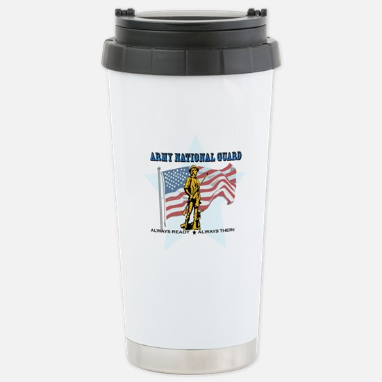 Army National Guard Stainless Steel Travel Mug