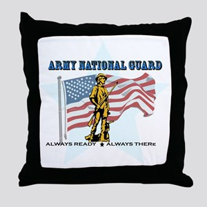 Army National Guard Throw Pillow