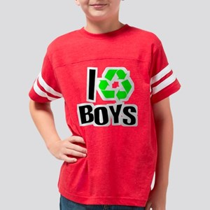 Irecycleboys trans Youth Football Shirt