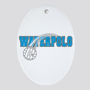 WATER POLO! Oval Ornament
