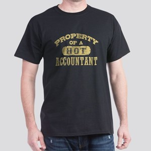Property of a Hot Accountant Dark T-Shirt