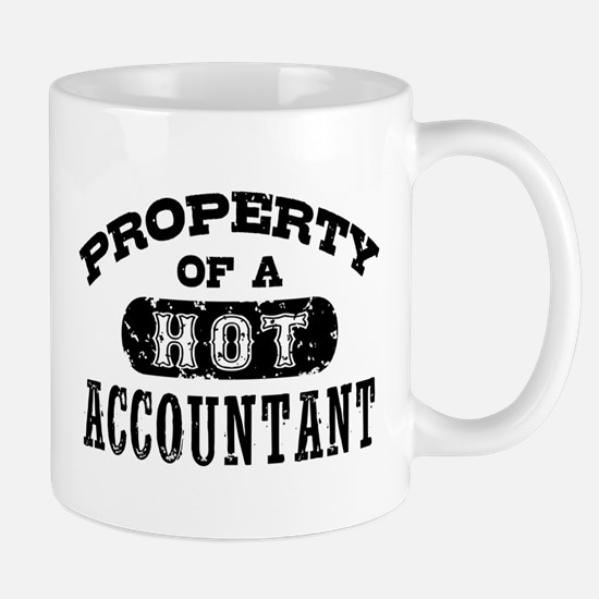 Property of a Hot Accountant Mug