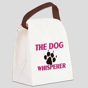 The Dog Whisperer Canvas Lunch Bag