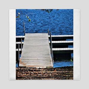 Lake Dock Queen Duvet