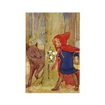 Tarrant's Red Riding Hood Rectangle Magnet