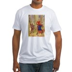 Tarrant's Red Riding Hood Fitted T-Shirt