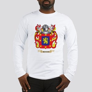 Banas Coat of Arms Long Sleeve T-Shirt
