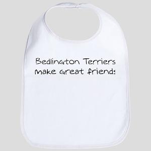Bedlington Terriers make frie Bib