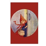 Tarrant's Red Riding Hood Postcards (Package of 8